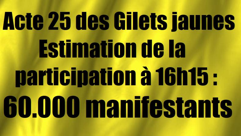 acte-25-des-gilets-jaunes-estimation-de-la-participation