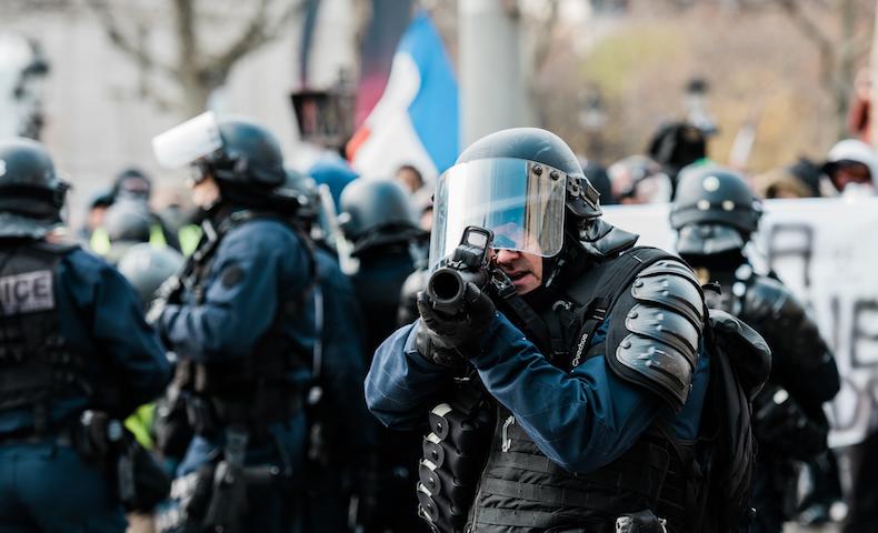 FRANCE - SOCIAL - DEMO - GILETS JAUNES ACTE 4 - PARIS