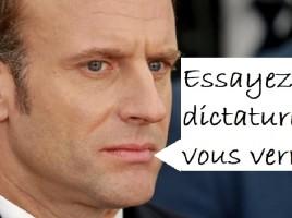 Macron-dictature