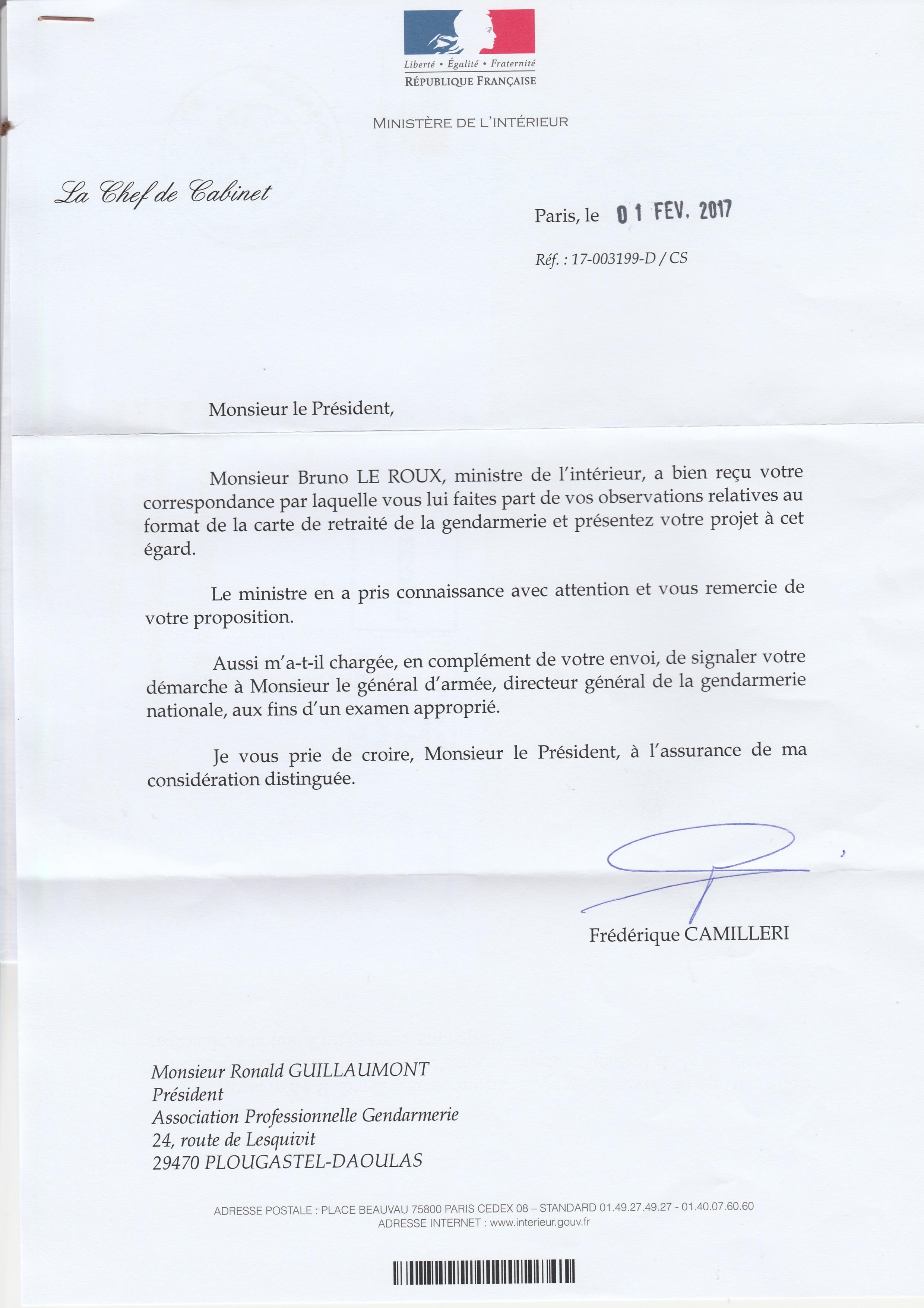 Carte de Retraité de la Gendarmerie : La Réponse du Ministère