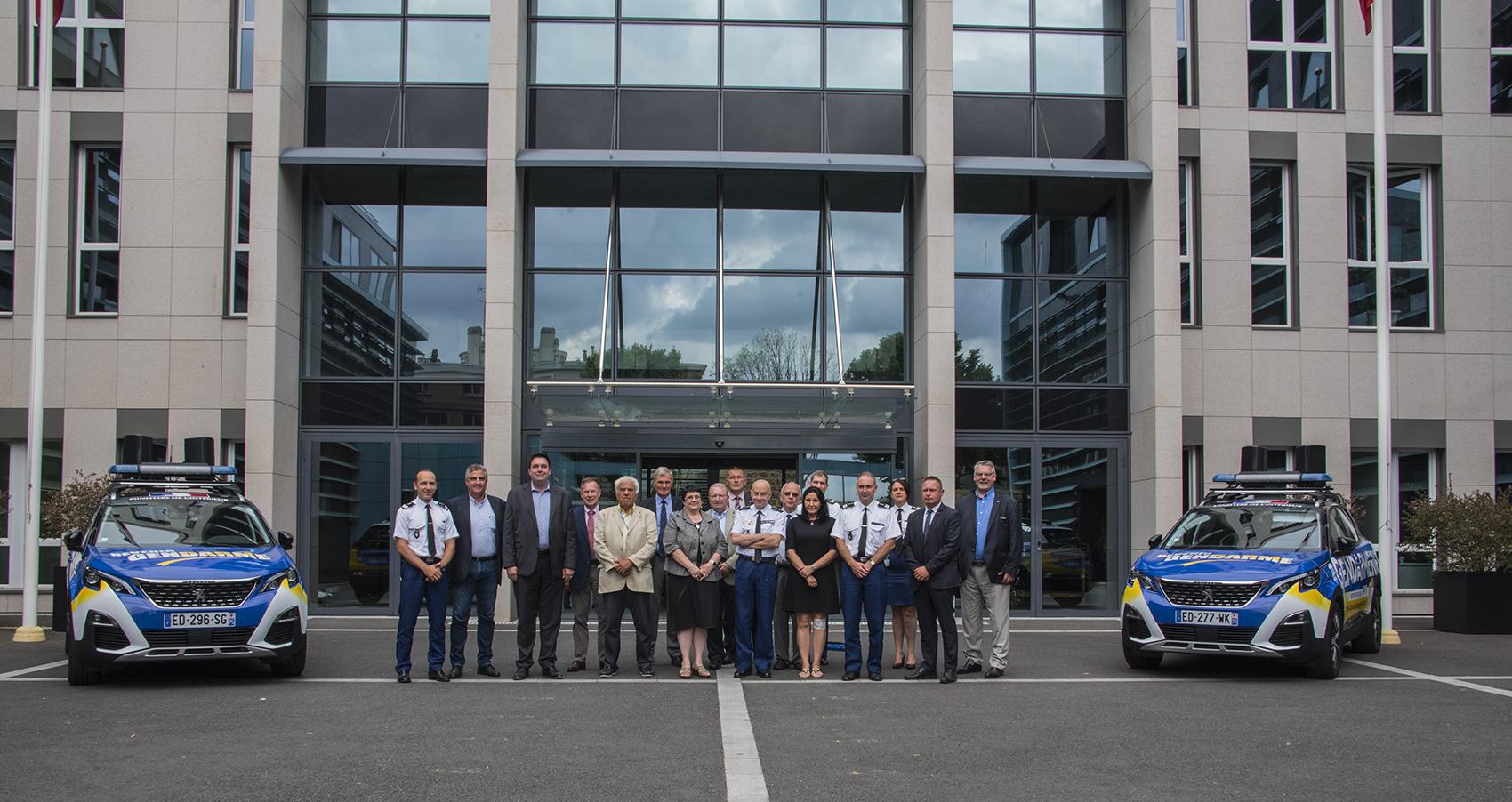LAPG Remercie Vivement Le Gnral LIZUREY Directeur De La Gendarmerie Nationale Pour Cette Belle Initiative
