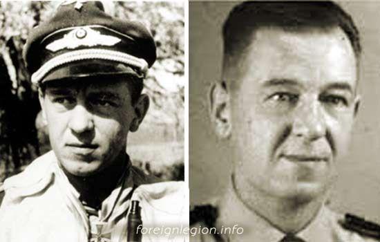 Histoire du légionnaire FREYTAG Siefried ancien As de la Luftwaffe . Freitag