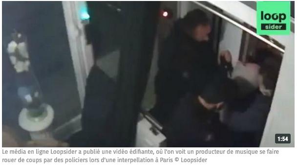 Producteur tabassé : les 4 policiers, également accusés d'avoir menti, en garde à vue