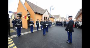inauguration gendarmerie