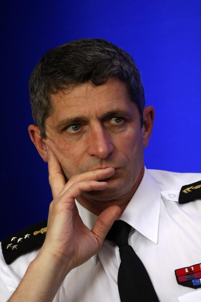 Manuel Valls ministre de Interieur conference sur la reforme du renseignement interieur.