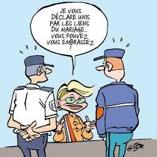 Police et Gendarmerie bisous