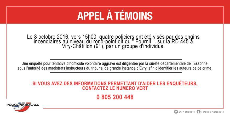 appel a temoin police