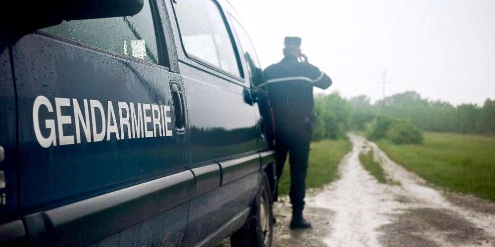 un-automobiliste-a-fonce-sur-un-vehicule-de-gendarmerie-dimanche-apres-midi-a-carignan-de-bordeaux