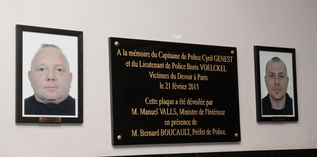 policiers de la Bac nuit tues