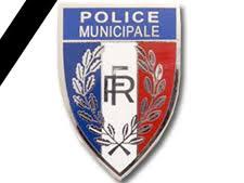 Police municipale en deuil