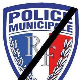 Police Municipal deuil
