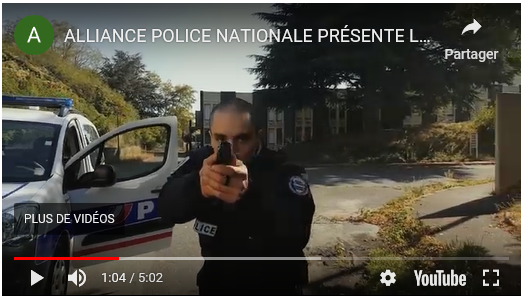 vidc3a9o-alliance-police-nationale