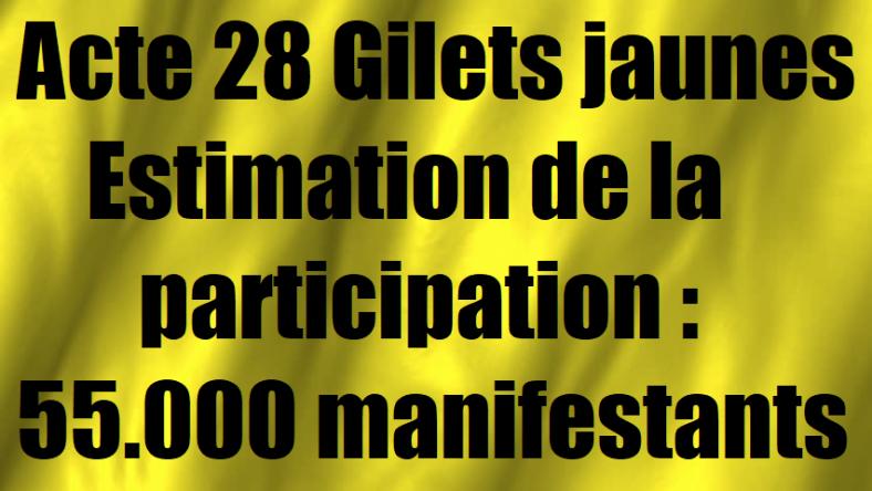 actes-28-des-gilets-jaunes-estimation-de-la-participation-manifestation-les-chiffres