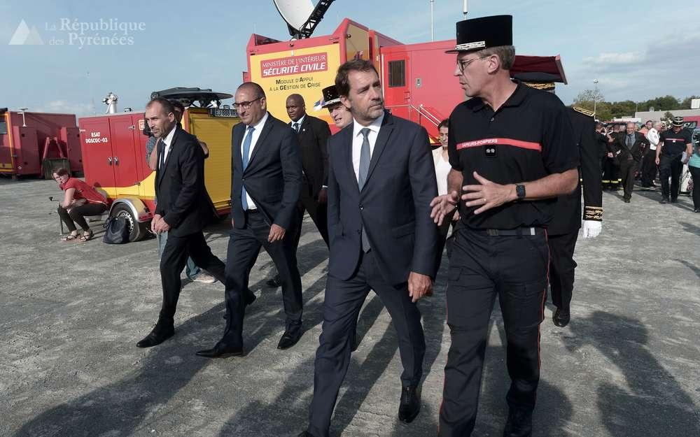 le-ministre-de-l-interieur-christophe-castaner-s-est-rendu-a-biarritz-mardi-pour-faire-le-tour-du-dispositif-de-securite