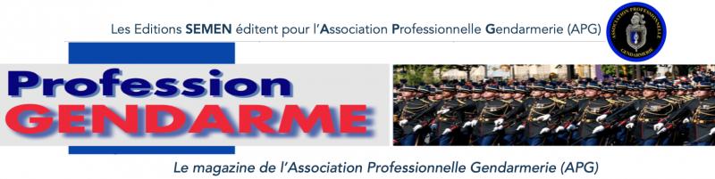 Logo Semen-Magazine Profession Gendarme
