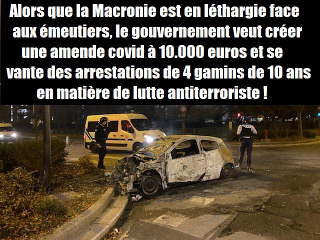 macron-syndicat-de-police-violens-urbaines-contravention-gendarmerie-douanes-justice-securite
