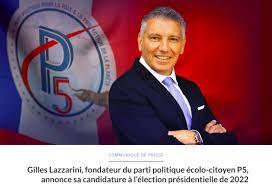 Gilles Lazzarini candidat surprise élection présidentielle 2022