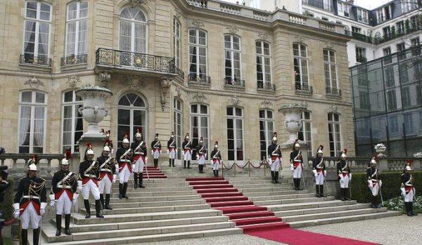 General view of Hotel Matignon in Paris