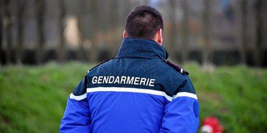 PHOTO CLAUDE PRIGENT / LE TELEGRAMME. MORLAIX (29) : Gendarme , gendarmerie .