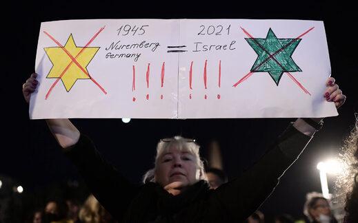 Passe sanitaire en Israël : les manifestants de Tel-Aviv l'ont comparé à l'étoile jaune