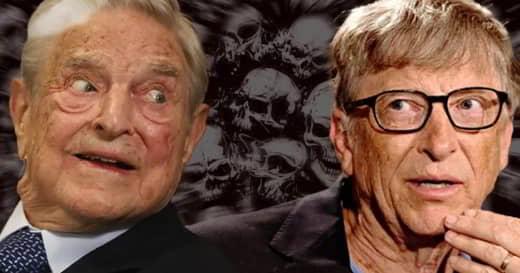 Les milliardaires mondialistes ultra-élites d'extrême gauche Bill Gates et George Soros ont uni leurs forces pour dominer l'industrie du Covid-19 et en tirer profit.