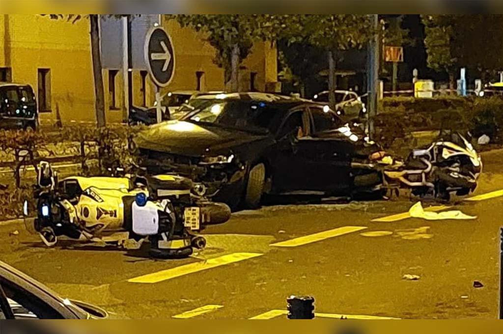 La Courneuve : Un chauffard neutralisé par balle après avoir percuté un motard de la police