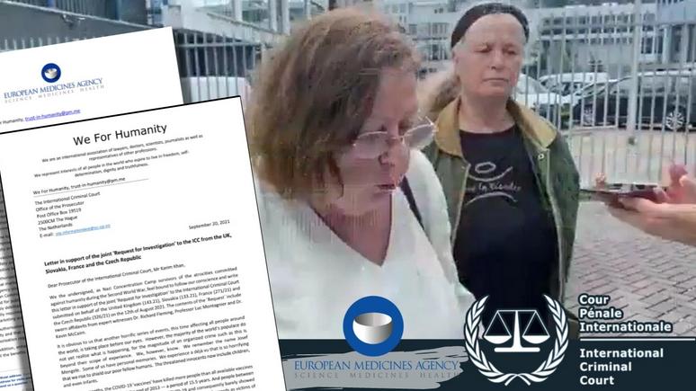 """Appel à la Cour Pénale Internationale : l'Agence européenne des médicaments fait une réponse arrogante à l'organisation """"We for Humanity"""" qui témoigne d'une intention criminelle"""